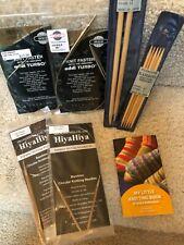 Skacel, HiyaHiya, Plymouth knitting needles lot