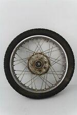 1973 Honda CB175 Rear Wheel Rim Tire