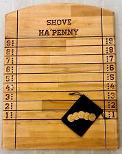 PICK A DATE SHOVE HALFPENNY 1 SET OF EDWARD VII SHOVE HA/'PENNY BOARD COINS