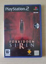 FORBIDDEN SIREN 1 PS2 VERSIONE ITALIANA COMPLETO DI CARTOLINE PLAYSTATION 2