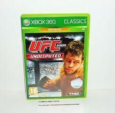 JEU XBOX 360 CLASSICS COMPLET  UFC 2009 UNDISPUTED REF 93