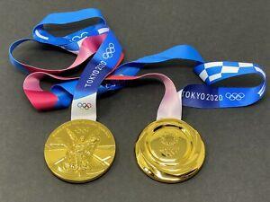 2020 TOKYO JAPAN SUMMER OLYMPIC WINNER REPLICA MEDAL - GOLD