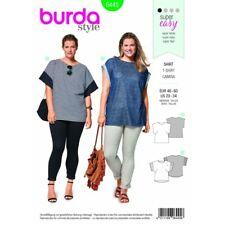 Burda extraña Blusa Camiseta Manga Larga o sin mangas burda patrón de costura 6632