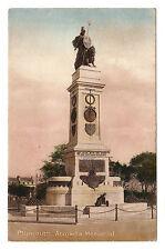 Armada Memorial - Plymouth Photo Postcard c1911