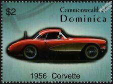 1956 CHEVROLET CORVETTE (chevrolet) Comme neuf automobile voiture TIMBRE (2003 Dominique)