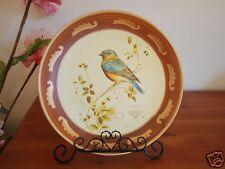 Ceramic Decoration Plate Country Bird 25cm A