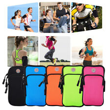 Outdoor Running Wrist Arm Bag Sport Gym Mobile Phone Money Holder Pouch Armband