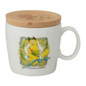 Pikachu Mug with lid MIMOSA e POKÉMON Center Limited Free Shipping