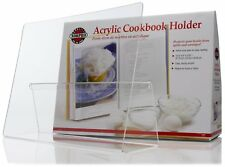 Norpro Acrylic Book / Tablet Holder with Splatter Guard - 12 ½ x 9 x 3 ¼