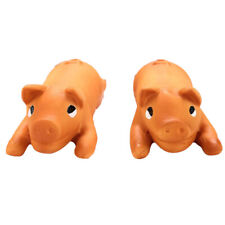 Latex Pig Dog Toy Interactive Squeakies Animal Puppy Play Interactive Toys 8C