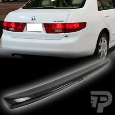 Carbon Fiber FOR Honda Accord Sedan OE Type Rear Trunk Spoiler Wing 2003-2005▼