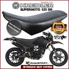 Kreidler Supermoto Sitzbezug, Seat Cover, Coprisedile, passend für 125 DD