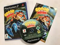 SONY PLAYSTATION 2 PS2 KIDS BANDICOOT GAME CRASH OF THE TITANS COMPLETE PAL