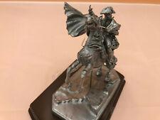 "Vollplastische Zinnfigur ""Napoleon Bonaparte zu Pferd""  11 cm hoch Maßstab 1:22"