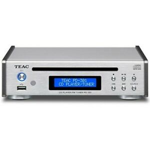 TEAC PD-301-S CD Player / FM Tuner Wide FM, USB Memory Music Playback Support