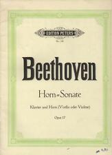 Beethoven Horn Sonate Klavier und Horn (V'Cello oder Violine) Nr. 149 Opus 17