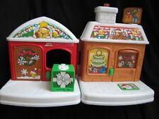Fisher Price Exclusive Little People VISIT FROM SANTA Christmas House Only