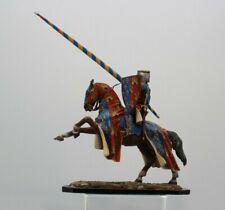 Niena Studio St.Petersburg  54 mm Tin HQ Painted. Knight tournament on horseback