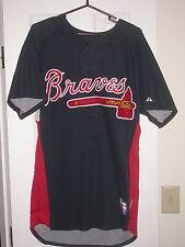 Atlanta Braves Game Used 2008 Batting Practice Baseball Jersey - Jurgens MLB
