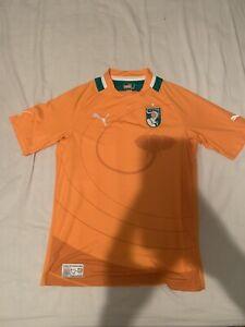 ivory coast football shirt Size Small