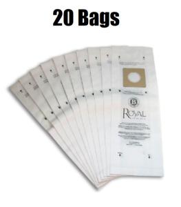 Royal Type B Vacuum Cleaner Bags 20 Pack New GENUINE