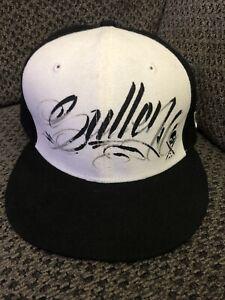 New Era Sullen Art Collective SnapBack Script Hat Black/White PRE-OWNED