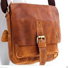 Vintage Leather Bag Messenger f iPad air mini Satchel Student shoulder handicraf