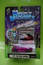 Purple Muscle Machines Import SS Muscle Tuners 1997 '97 Toyota Supra