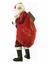 Fun World Costumes Santa Sack Red/gold 30 X36
