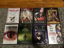 Dvd Lot Horror Gremlins The Fog American Psycho Candyman Goonies
