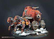 Gun Carriage Khador Battle engine warmachine ** COMMISSION ** painting