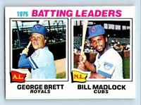 1977 O-Pee-Chee Must See Condition ! George Brett Bill Madlock #1