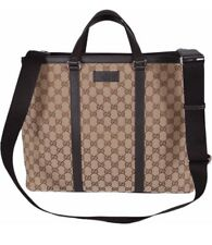 Gucci Canvas GG Guccissima Borsa Donna Large Crossbody Tote Bag NWT