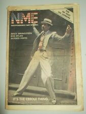 NME JULY 4 1981 JOHN LENNON IAN DURY ELVIS COSTELLO MARK CHAPMAN BOB DYLAN