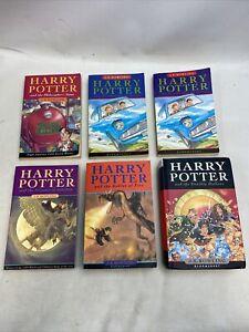 Harry Potter Book Collection - 6x Books. (Read Description)