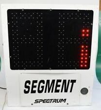 Spectrum Manufacturing Sports White Eb1 Segment Timer with horn (no controller)