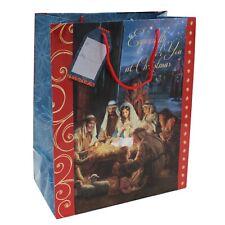 Weihnachten - Geschenktüte - 32cm x 26cm - Religiös Design - Herkunft