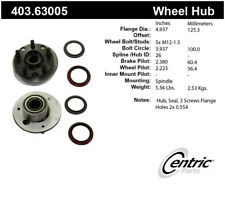 Axle Bearing and Hub Assembly Repair Kit-Premium Hubs Front Centric 403.63005