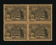 Portugal - 1924 Luis de Camoes - 4$50 Block of 4 - Mint Never Hinged