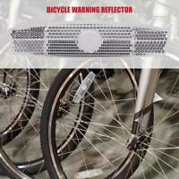 Bike Bicycle Spoke Reflector Safety Warning Light Wheel Rim Clip Tube Reflector