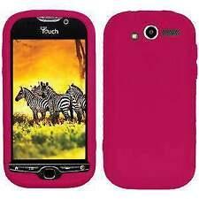 AMZER Silicone Soft Skin Jelly Fit Case Cover for HTC myTouch 4G - Hot Pink