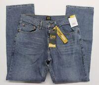 Men's Lee Premium Select Regular Fit Stretch Blue Jeans (2001945) Phantom