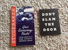 1937 Studebaker original dealership sales handout