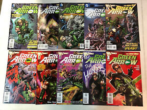 Green Arrow #0,1-52,Annual, Futures End Complete Set DC New 52 #1 is a 2nd print