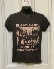 Black Label Society World Tour 06,07 Tour T-shirt Size Small New Without Tag
