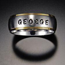 Name Rings , Engraving