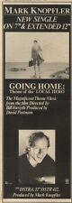 5/3/83PN20 ADVERT: MARK KNOPFLER SINGLE GOING HOME (THEME 0F LOCAL HERO)