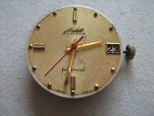 Mido Ocean Star Powerwind complete wrist watch movement in good working order