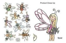 Lili of the Valley 5 Lili's Fairies Die Cut Sheets