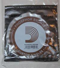 D'ADDARIO  5  Cordes Guitare Acoustique  - Phosphore Bronze - PB045